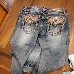 Grace in LA Boot cut jeans size 28